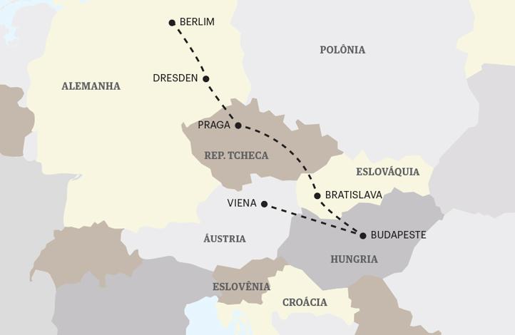 Capitais da Europa Central PLUS