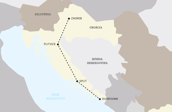 Maravilhas da Croácia